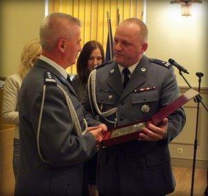 uroczystość pożegnania I Zastępcy Komendanta Wojewódzkiego Policji w Opolu
